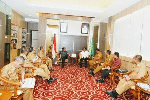 Kunjungan Kerja Bupati Banyuasin, Peroleh Bantuan Pembangunan dari Gubernur HD