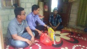 KPAD Banyuasin Sambangi Keluarga Korban meninggal Saat Memancing
