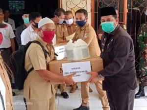 Pertahankan Banyuasin Zero Covid 19, 11 Kecamatan Terimah Masker, Disinfektan dan Handsanitizer