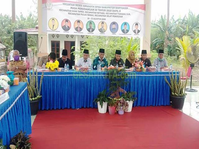 Anggota DPRD Banyuasin, Kunjungan anggota DPRD