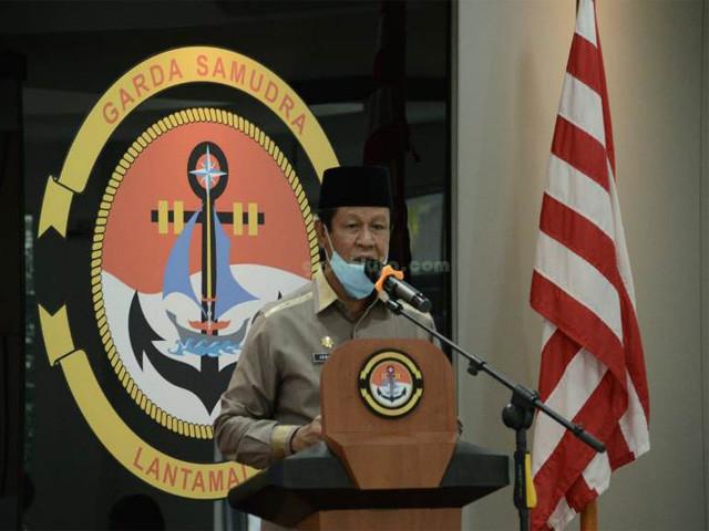 Gubenur Propinsi Kepri, Komunitas Penyelam Nusantara, Danlantamal, TNI Angkatan Laut