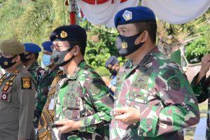 Danlantamal IV Hadiri Apel Gelar PAM Pilkada Provinsi Kepri, Disebut Domain TNI- Polri Sukseskan dan Amankan