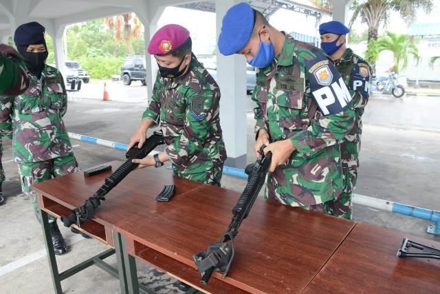 Latihan Komando Armada I, Team Work, TNI Angkatan Laut, Uji Terampil Glagaspur, Danlantamal IV