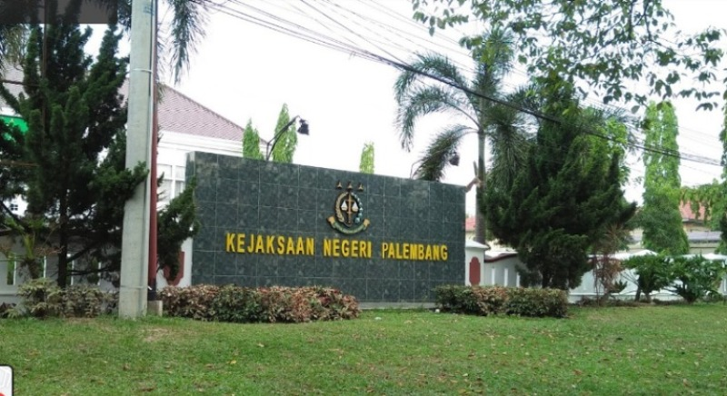 The Palembang State Prosecutor's Office, the court house where judges are prosecutors, law enforcers, representatives of God on earth, there is an afterlife after the life of the earth, this earth is very small for believers.
