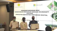 IndonesiaMinistry of Agriculture Signed MoU with Microsoft To Empower Smallholder Farmer