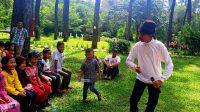 Suguhan Taman Wisata Punti Kayu Selain Wahana, Kursus Melukis, Panggung Dan Pantomim Seni Budaya Juga Ditampilkan Loh..!