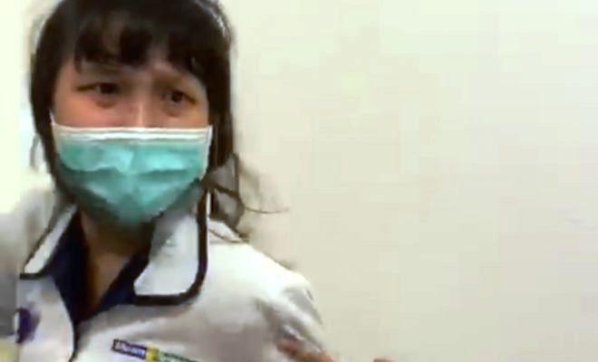 Photo Tangkapan Layar, Christina Maruli Perawat RS Siloam
