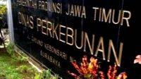 Papan Board Nama Kantor Dinas Perkebunan Jawa Timur