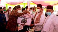 Safari Ramadhan Bupati dan Wakil Bupati Banyuasin Sambangi Desa Daya Makmur Kecamatan Muara Padang