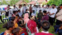 Bupati Askolani Bersama Kepala OPD Sambangi Keluarga Korban Keganasan Buaya