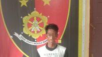 Tersangka CDR (26) Kini Ditahan Di Mapolsek Sungsang