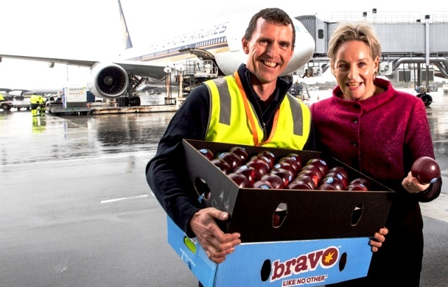 (Credited APAL BRAVO Apples Export to Singapore)