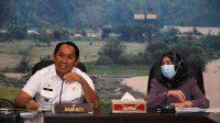 Popo saat bersama dengan Ketua Tim Bina Husada dalam Pertemuan Kerjasama kesehatan dan Pengabdian Masyarakat