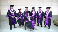 Pose Pimpinan Civitas Universitas Bina Darma Palembang