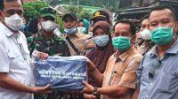 Plh Bupati OKU Didampingi Kadinsos Sumsel Sambangi Warga Desa Gunung Meraksa Tertimpa Musibah Banjir