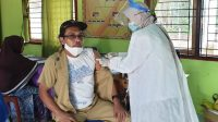 Pemdes Sedang Lakukan Vaksinasi Covid-19 Tahap Pertama