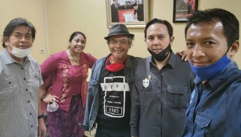Dalam Suatu Kesempatan Pose Bersama Pengurus Iwo Kabupaten Lahat