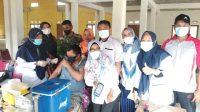 Pemdes Sako Laksanakan Vaksinasi Sinovac Gelombang Pertama Untuk Warga