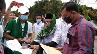 LSM SCW Mendapat Intimidasi Dari OTK Saat Gelar Aksi Damai Di Kantor Bupati Banyuasin