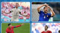 Penasaran 11 Tim Lolos 16 Besar Euro 2020(2021), Ini Daftar Nya