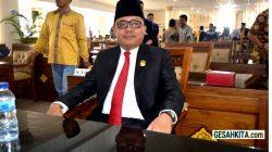 FOTO : Ketua Fraksi PDI Perjuangan DPRD OI, Amir Hamzah, SH