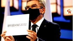 President Of International Olympics Comittee Thomas Bach Announces Bribane 2032 The Host Of Olympics