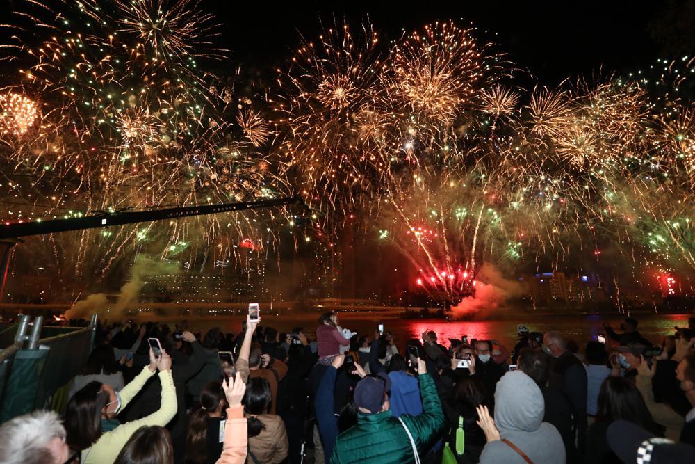 Bribane People Celebration As Brisbane The Winner No Bid To be The Host Olypics 2032