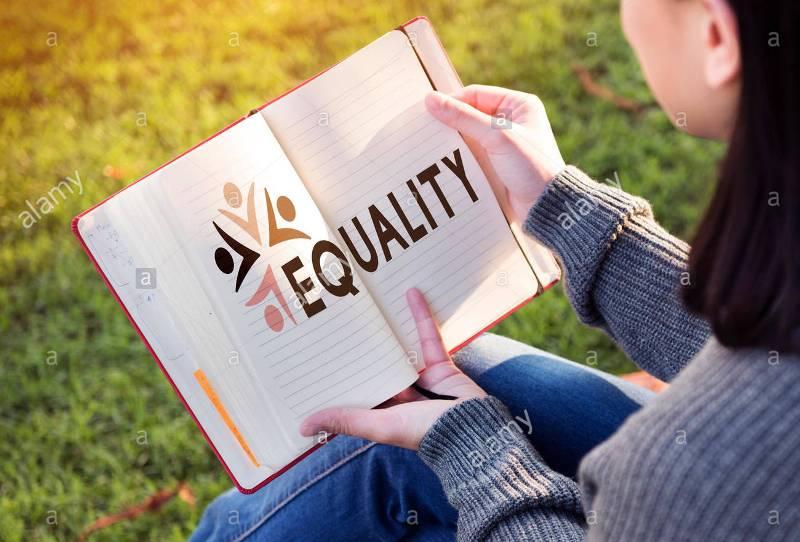 Ilustration Equality Fairness ( photo credited Alamy)