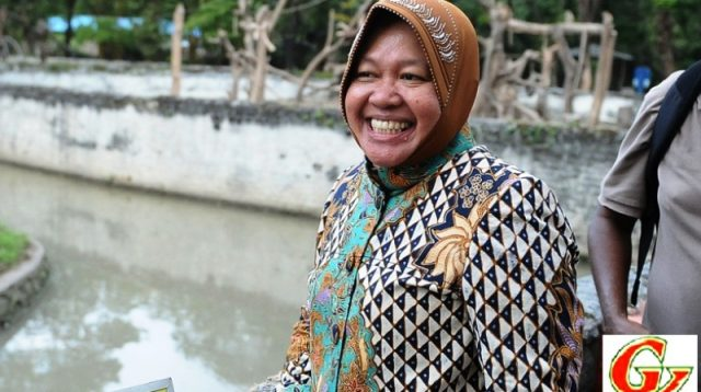 Menteri Sosial (Mensos) Tri Rismaharini (Credited Fortune)