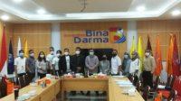 Bina Darma University Involved 9 Press Companies Broadcasting The Campus Activity