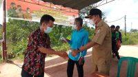 Satgas Posko PPKM Mikro Sungsang 1 Lakukan Pemantauan Dan Imbauan Ke Warga
