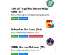E-Learning : UBD Terbaik Sumsel,  3 Matakuliah Terkoneksi SPADA Dikti