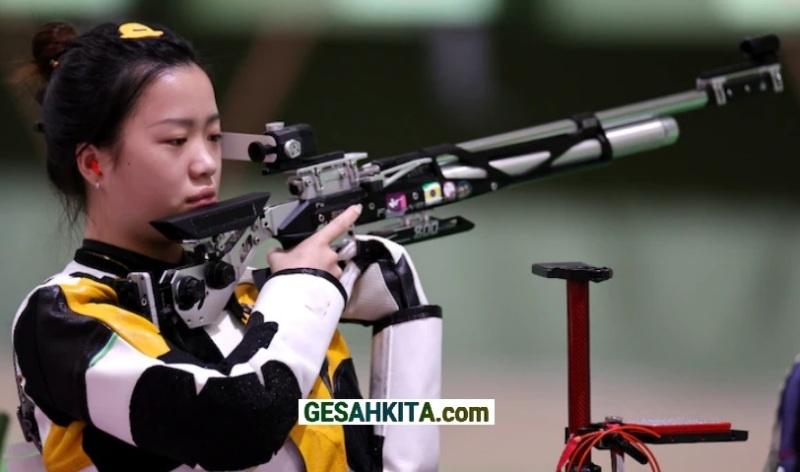 Yang Qian dari China Raih Medali Emas Pertama Olimpiade 2020 (credited India Today)