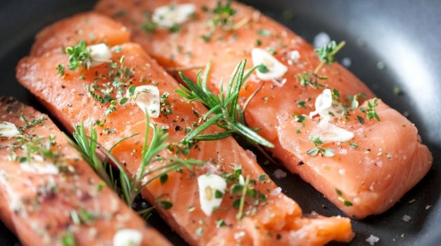 salmon filet (credited getty images)