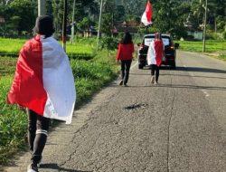 Aksi Jalan Kaki 1.800 KM, Aktivis Lingkungan Toba Temui Presiden Jokowi