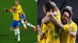 Celebrasi Timnas Brasil Raih Emas Olimpiade Tokyo 2020