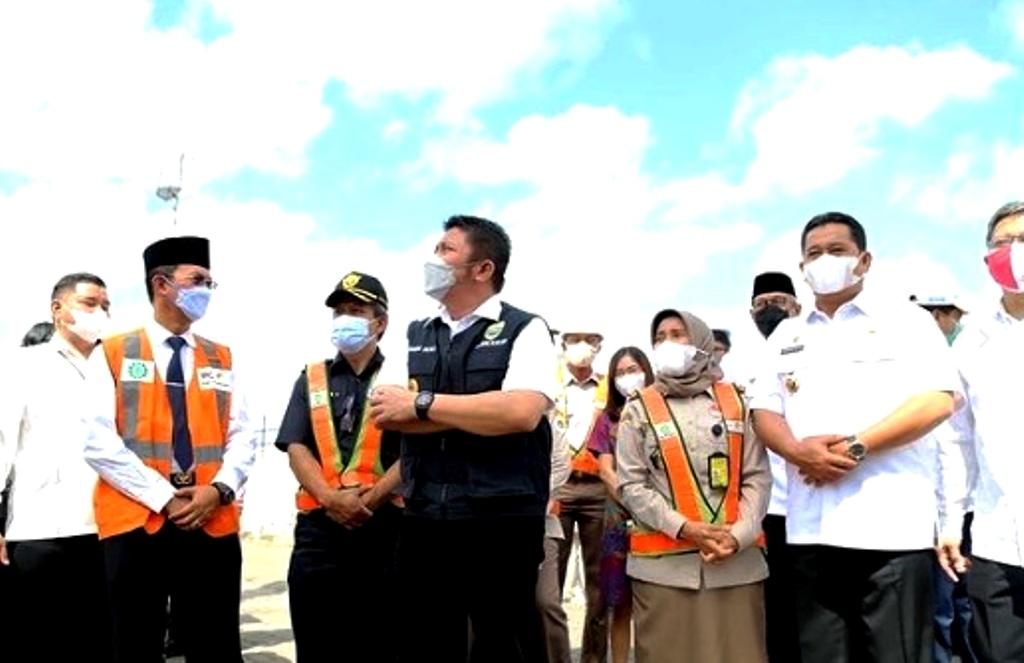 Gubernur Sumsel H. Herman Deru mengikuti kegiatan Merdeka Ekspor (Pelepasan Ekspor Komoditas Pertanian) (Foto Credited Humas Prov Sumsel)