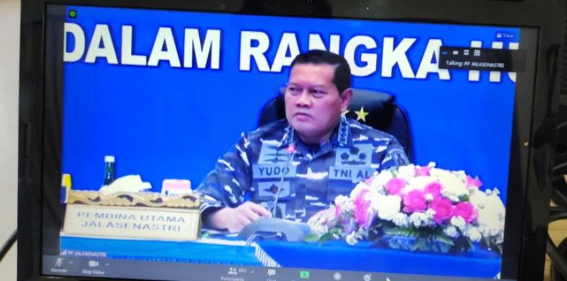 Kepala Staf Angkatan Laut (Kasal) Laksamana TNI Yudo Magono, S.E., M.M.,