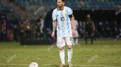Striker Timnas Argentina, Lionel Messi (credited Alamy)