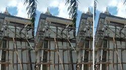 Tangkapan Layar video pembangunan Masjid Tholabul Qur An Rantau Alai Ogan Ilir