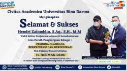 Banner Ucapan Selamat Atas Kiprah UBD