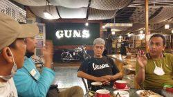 Didit Pegelolah Guns Cafe Saat Dibincangi