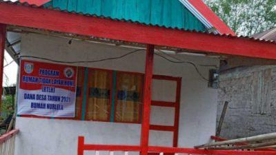 RLH Yang dianggarkan Pemdes Upang Jaya Dari Dana Desa