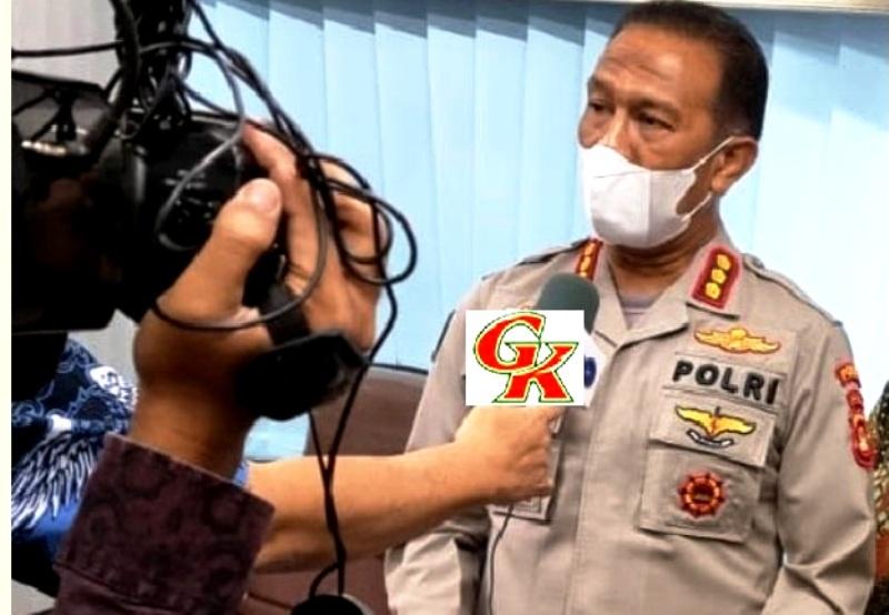 Kombes Pol Drs Supriadi, Kabid Humas Polda Sumsel Saat beri keterangan Ke Wartawan