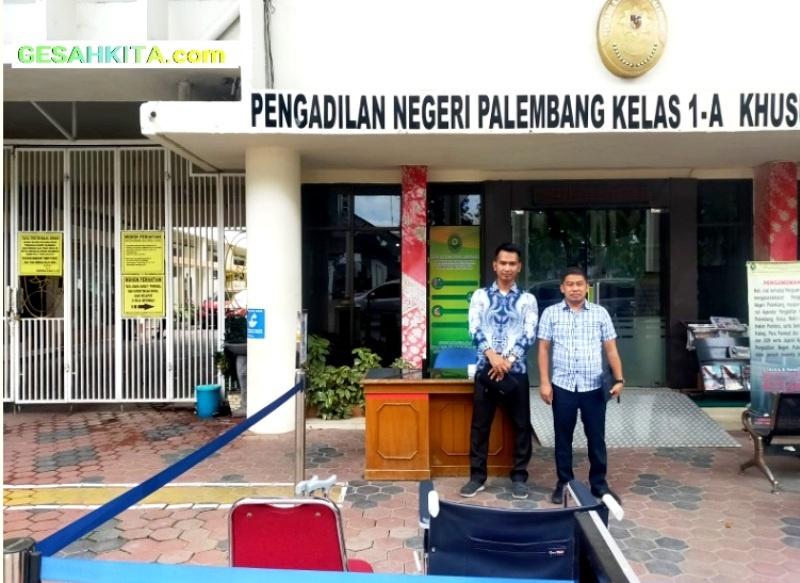 Kuasa Hukum 32 eks Pekerja PT MGM Usai Daftar PHI PN Palembang