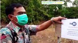 Lokasi Bakal Dibangun Pemancar Digital LPP TVRI Muaradua Oku Selatan