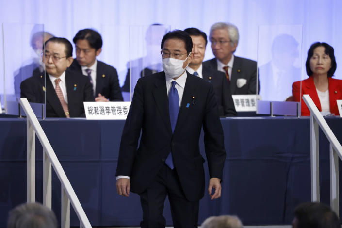 Mantan Menteri Luar Negeri Fumio Kishida Terpilih Perdana Menteri Jepang Baru