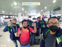 Atlet dan Pelatih Lima Cabor Sumsel Berangkat ke PON Papua FPTI Sumsel Kirim 4 Atlit