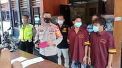 Saat Press Konferens Di Polrek SU I Palembang