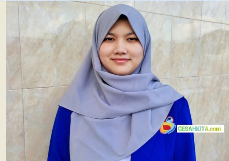 Aqiilah Ramadhai Amir, Mahasiswa UBD yang peroleh Score Toefl tertinggi Di Universitas Bina Darma